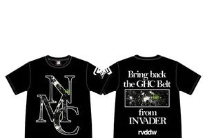 GHCを獲り戻せ 『reversal』デザインによる新作NO MERCY・Tシャツ、9・5有明より発売