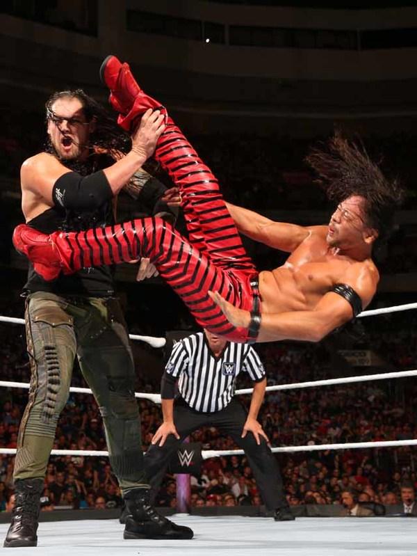 中邑がコービンと対決 9・16大阪『WWE Live Osaka』主要カード決定