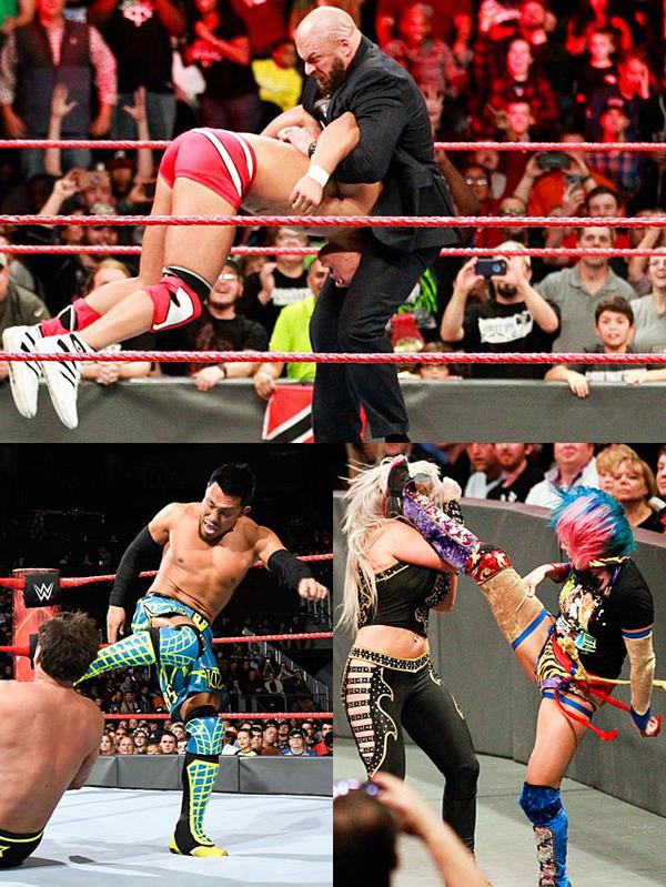 トリプルHが『サバイバー・シリーズ』RAWチーム入りを宣言、中邑と対決へ 戸澤はタッグ戦に敗戦