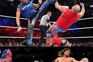 中邑、アスカがブランド対抗イリミネーション戦に登場、AJはレスナーとの王者対決に敗れる PPV大会『サバイバー・シリーズ』