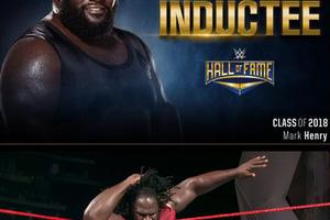 マーク・ヘンリーが2018年WWE殿堂入り
