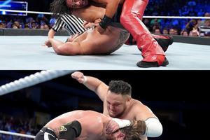 中邑がルセフ下してUS王座防衛、WWE王座再戦へジョーが王者AJを襲撃