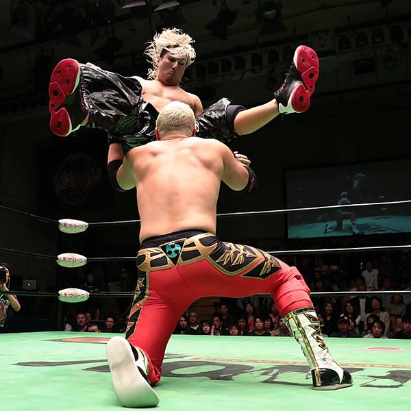 ジュニア奪回へHAYATAが鼓太郎直接ピン まさかのマイクで「大阪でも同じや!」