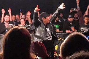 大仁田が1年4ヵ月ぶりアメリカCZW参戦で快勝、英国&ニューヨークでの電流爆破実現見据えた