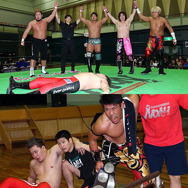石井&岩崎のGHCジュニアタッグ挑戦が決定的に 熊野直接ピンで王者組も承諾