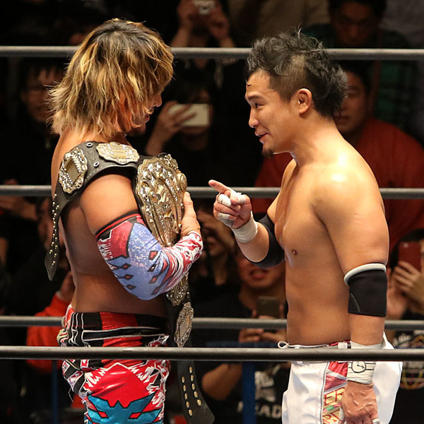 最後のタッグ快勝 棚橋とのラストマッチへKUSHIDA「喜怒哀楽全部詰め込んで戦う」