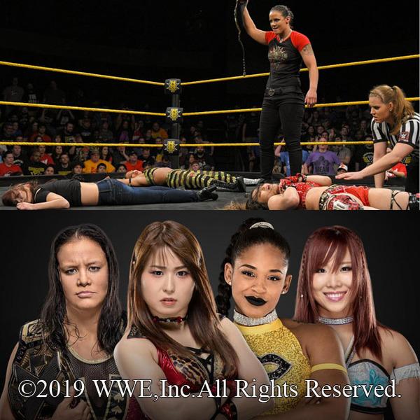 イオ、カイリが『NXTテイクオーバー:ニューヨーク』での4WAY戦でNXT女子王座に挑戦決定