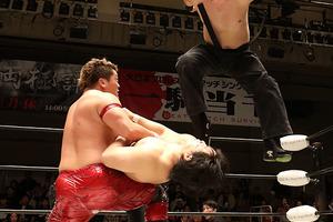 飛艶快勝、アジアタッグ再挑戦実現へ全日本3・27横浜での王者・岩本狩りを予告