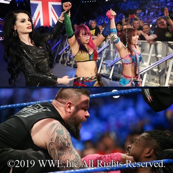 """チーム名が""""カブキ・ウォリアーズ""""に決定 アスカ&カイリ快勝で女子タッグ王座挑戦へ前進、WWE王座戦へ王者キングストンとオーエンズが乱闘"""