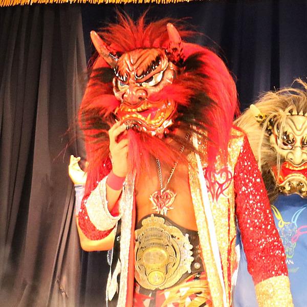 メキシコ帰りの宮原が神楽面で登場、快勝締め、久々海外遠征で決意「日本を制する」