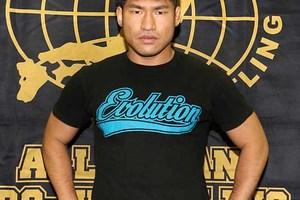 「Evolutionでいきたい」 岡田が佐藤とのJr.タッグリーグ戦出場をアピール