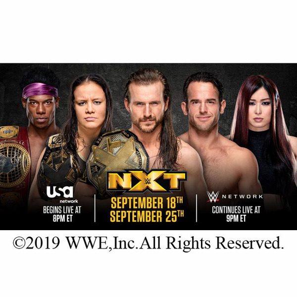 NXTが9月18日よりUSAネットワークで2時間番組でライブ放送、初回&第2回のみ後半1時間をWWEネットワークでライブ配信