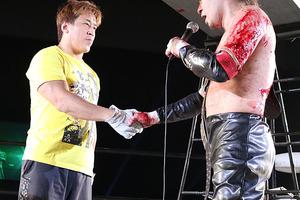初挑戦・佐久田を返り討ち 木高がデスマッチ王座V3、11・4両国で二丁拳銃対決へ