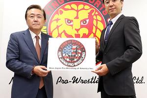 アメリカでの興行規模拡大へ 現地法人「New Japan Pro-Wrestling Of America」を今年11月に設立