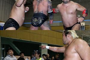 暴走大巨人が関本組撃破で開幕2連勝、諏訪魔はマッハ挑発、鈴木みのるへのリベンジ宣言
