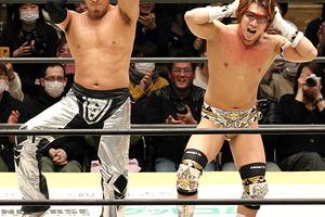 丸藤が平田とダンス披露 「DDTではいろんな丸藤をお見せします」