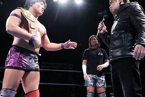 イサミが二丁拳銃のアジアタッグ挑戦を表明、岩本もジェイクとの迎撃を宣言