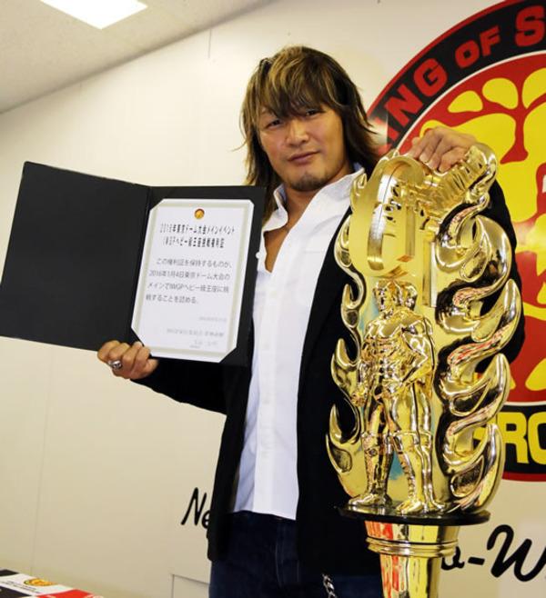 誰が考えたかわからないけど最高のシステム、東京ドームIWGPヘビー級王座挑戦権利証は誰が考えたのか?