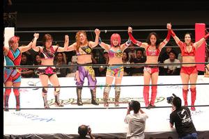 WWE入りの華名、日本ラストマッチは30分超えの大熱戦