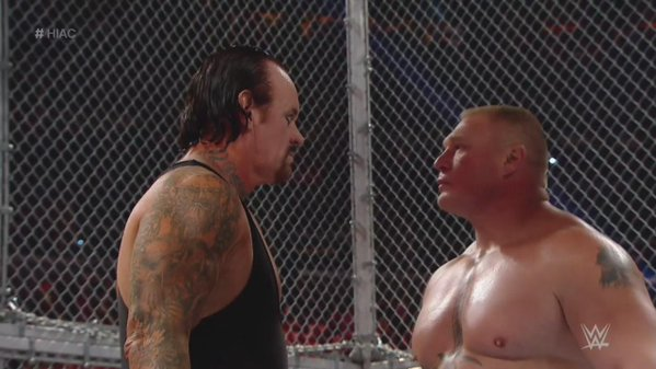WWEは流血NG…アンダーテイカーvsレスナーの舞台裏でビンスが大激怒!