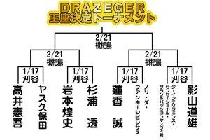 「チームでら」トーナメント決定「DRAZEGER」ドラツェーガー!どら強い王者は誰に?