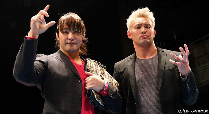棚橋&オカダが6年ぶりタッグ結成!ROHとの対抗戦へ出撃