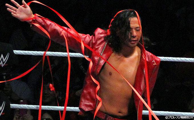 中邑真輔、WWEの一軍昇格が目前か