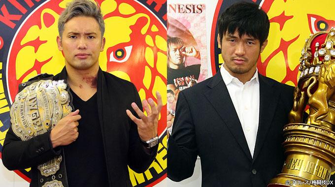 新日本プロレスと「NEW JAPAN PRO-WRESTLING」を背負って。柴田勝頼のプロレスをオカダ・カズチカは受け止められるのか