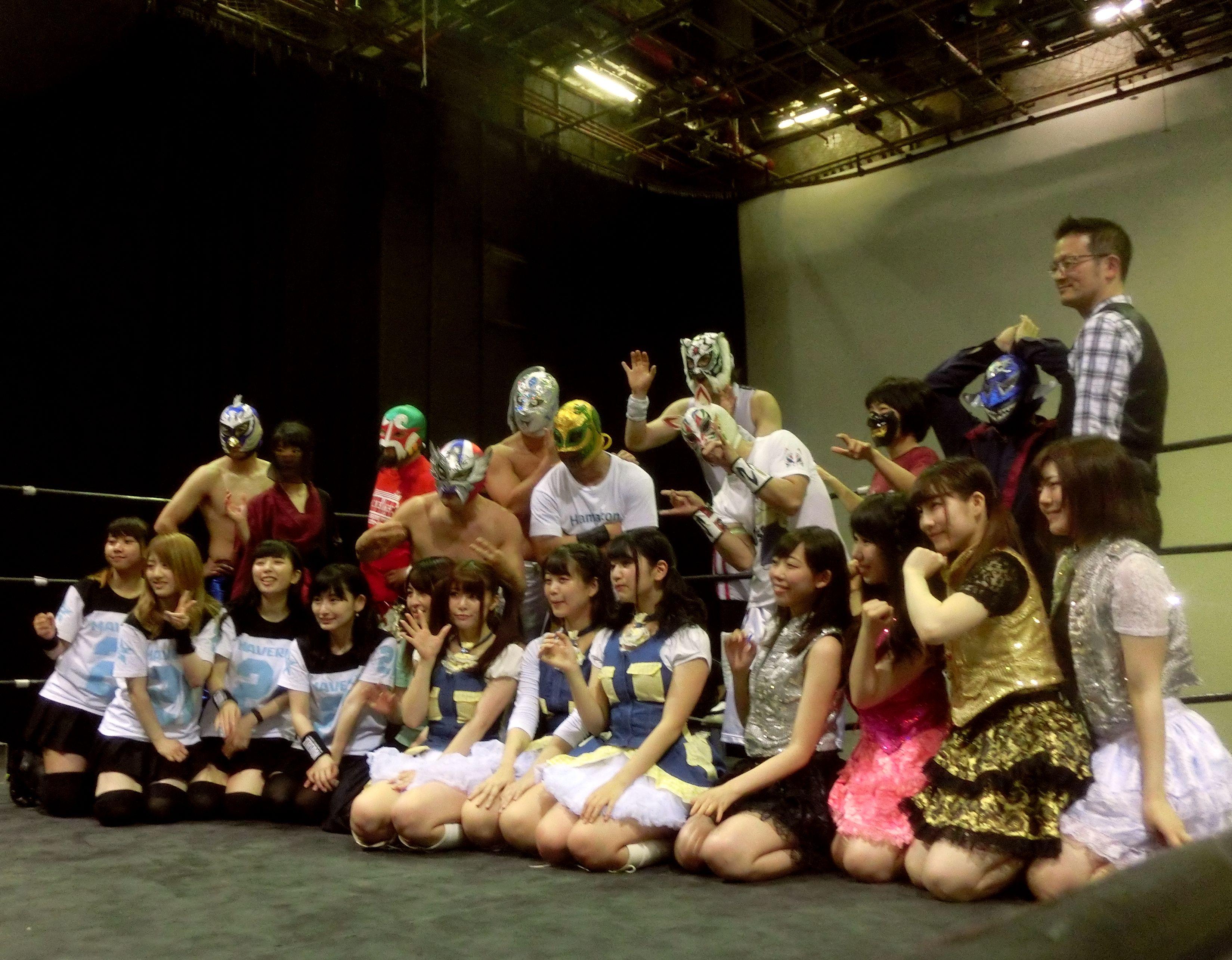 「MAVERICK」が闘い「なら万葉プロレス」が踊った!? 「アイドル×マスクマン 東京アイドル旋風祭×シアタープロレス花鳥風月」