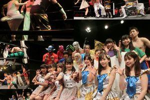 ご当地ランブル優勝アイドルは東京CLEAR'S・朝比奈凛! 8・13ご当地×アイドル×プロレス「アイドル×マスクマン花鳥風月」